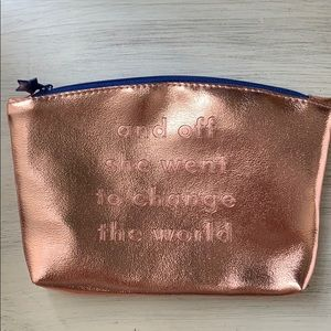 Ipsy and off she went to change the world make up